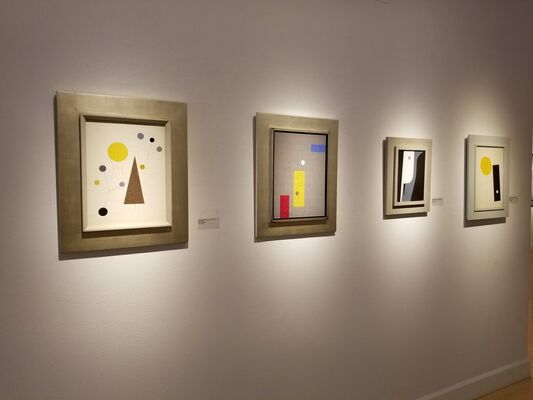 Charles Green Shaw: Timeless Forms, installation view