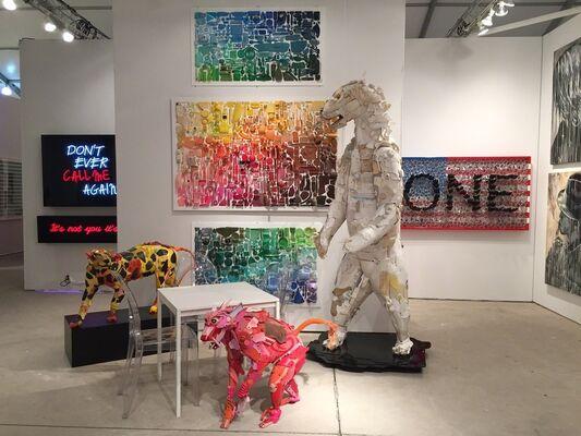 Contessa Gallery at Art Miami 2016, installation view