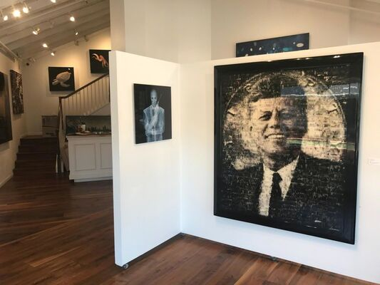 """Americana"" ~ a celebration at The La Jolla Gallery, installation view"