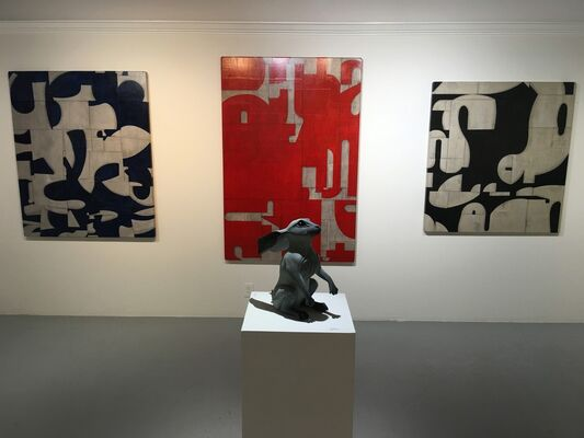 Flux and Flow, installation view