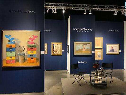 Somerville Manning Gallery at Seattle Art Fair 2019, installation view