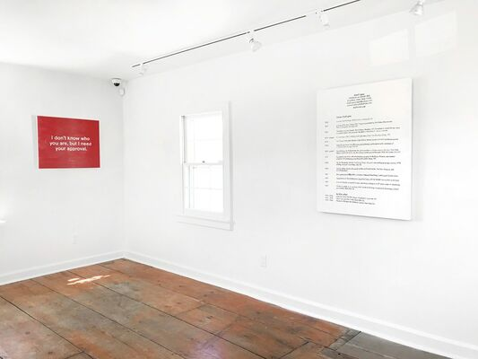 Lisa Levy: The Thoughts In My Head, installation view