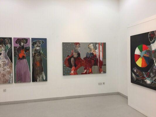 Edwar Shahda and Mona Nahleh exhibtion, installation view