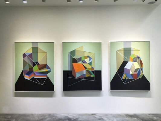Imaginary Practice - Liang Manqi Solo Exhibition, installation view