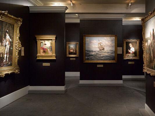 2016 Aspen Antiques, Jewelry & Fine Arts Fair, installation view