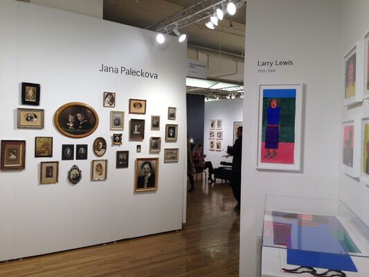 FRED.GIAMPIETRO Gallery at Outsider Art Fair 2018, installation view