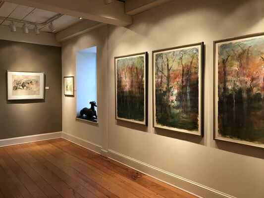 Trees, installation view