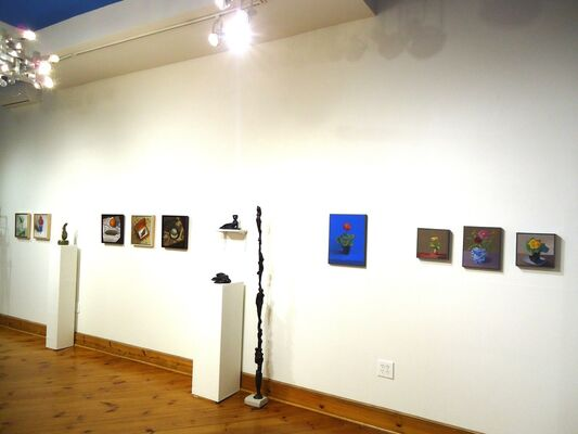 An Exemplar Model: Kristin Balmer, Colleen O'Donnell & Leo Robinson, installation view