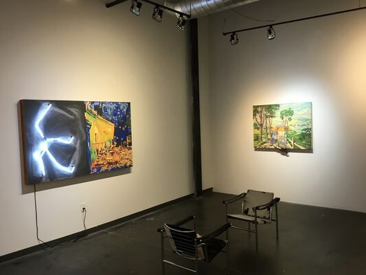 American Illuminations, installation view