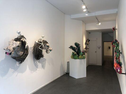 Johnston Foster Bone Pendulum in Motley, installation view