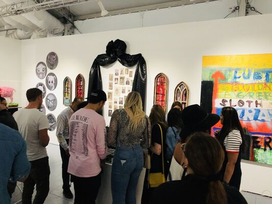 Pigalle Gallery at SCOPE Miami Beach 2019, installation view