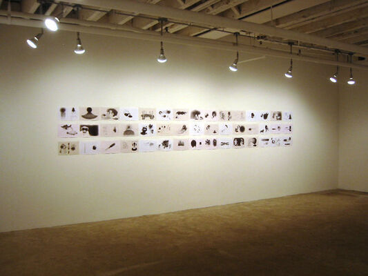 """Guillaume Pinard - """"expresso"""", installation view"""