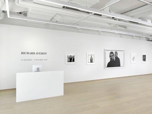 Richard Avedon, installation view