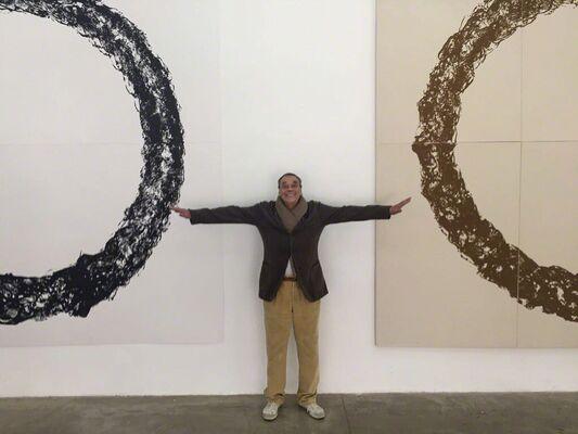 Günther Uecker Ouroboros, installation view