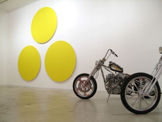 Olivier Mosset / Indian Larry, installation view