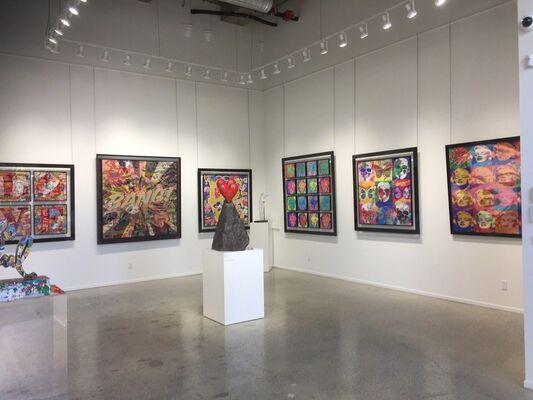 Patrick Rubinstein, installation view