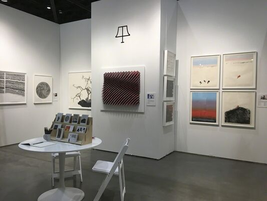Tamarind Institute at Seattle Art Fair 2018, installation view