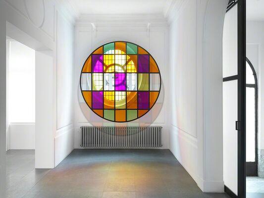 Daniel Buren — Travaux inédits, 2016, installation view
