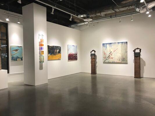 "Paul Brigham ""Confluence"", installation view"