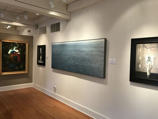 Behind the Easel, installation view