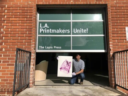 L.A. Printmakers Unite!, installation view