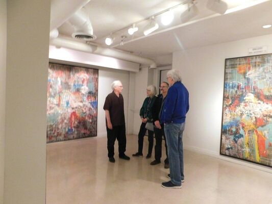 Jon Peterson: 12 Years of Painting, installation view