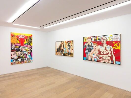 ERRÓ - Paintings from 1959 to 2016, installation view