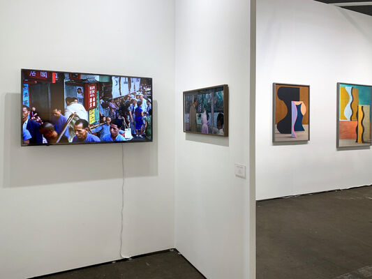 Denny Dimin Gallery at UNTITLED, ART San Francisco 2020, installation view