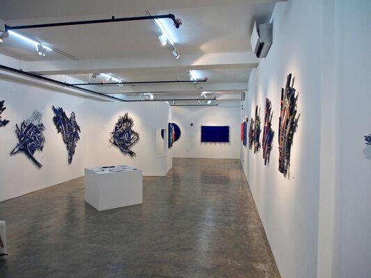 Meguru Yamaguchi - Emilio Cavallini: Untainted Abstraction, installation view