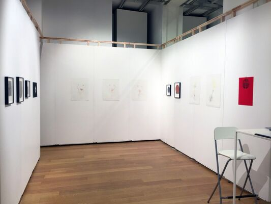 LMAKgallery at Art on Paper: The Brussels Contemporary Drawing Show 2016, installation view