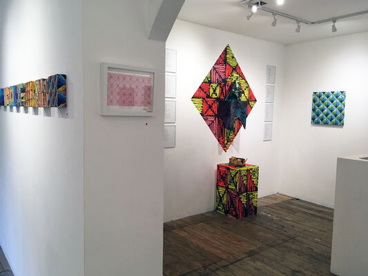 MAELSTROM // New works by Clarence Rich, installation view