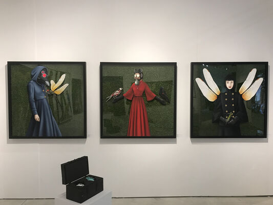 Peimbert Art at CONTEXT Art Miami 2019, installation view