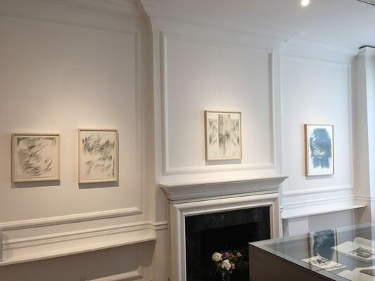 Sonia Gechtoff : Drawings from the Early 1960's, installation view
