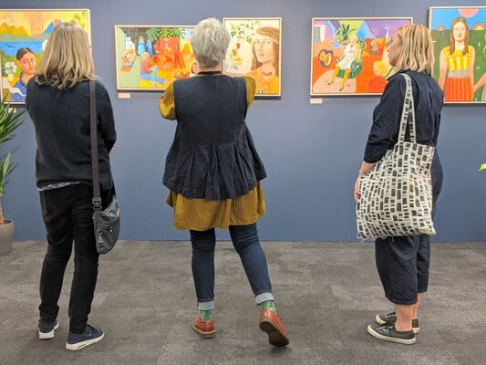 Kittoe Contemporary at London Art Fair 2020, installation view
