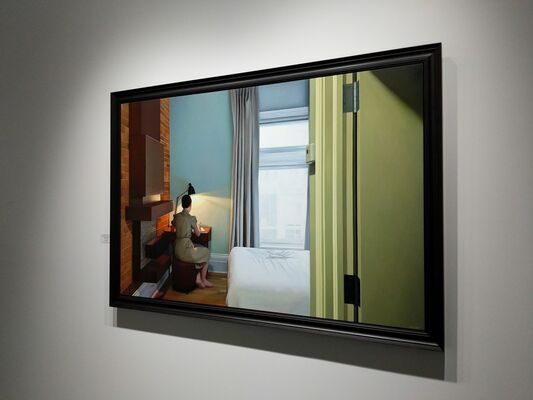 """Shaun Downey - """"Reflections"""", installation view"""