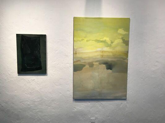 Dimitra Charamandas - as we sink we melt, installation view