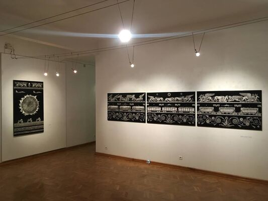 'Battle for the harvest', installation view