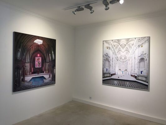 HELMUT GRILL - Temples, installation view