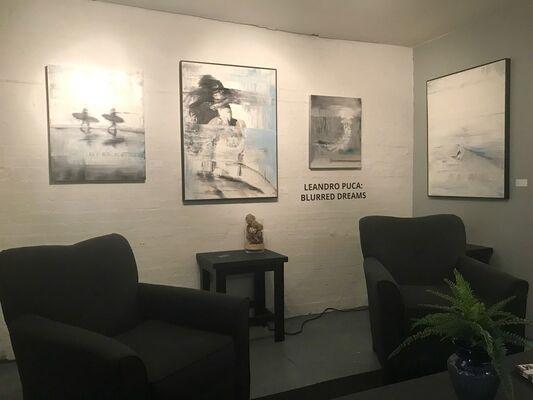 Leandro Puca: Blurred Dreams, installation view