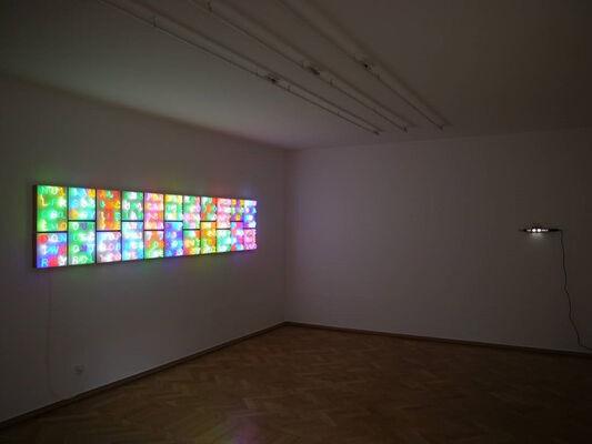 Albert Hien | papalapap, installation view