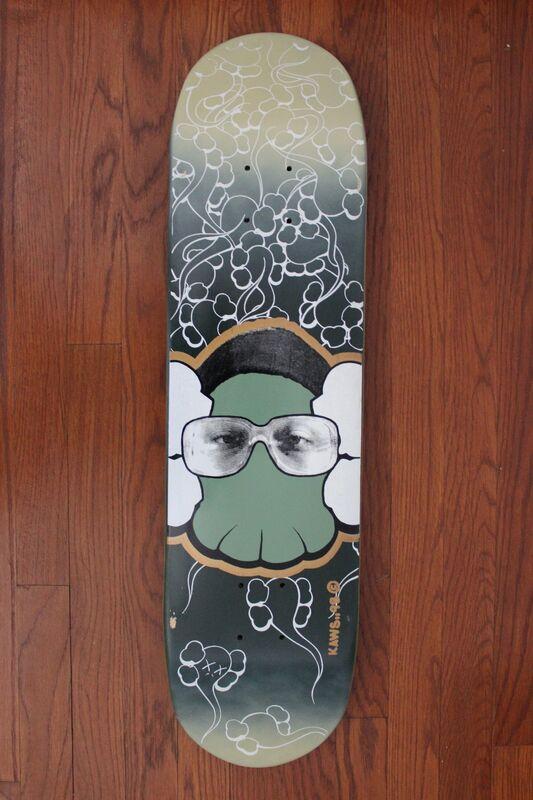 KAWS, 'Skateboard deck ', 1999, Print, Screenprint on skateboard deck, EHC Fine Art