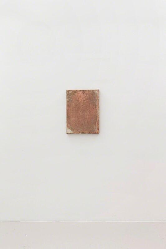 John Henderson, 'Type', 2016, Copper electrotype, Perrotin