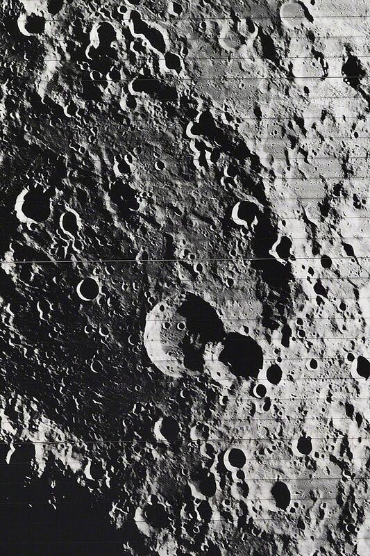 NASA, 'Orbiter 4 · Lunar Surface (detail)', Photography, Silver gelatin print, Daniel Blau