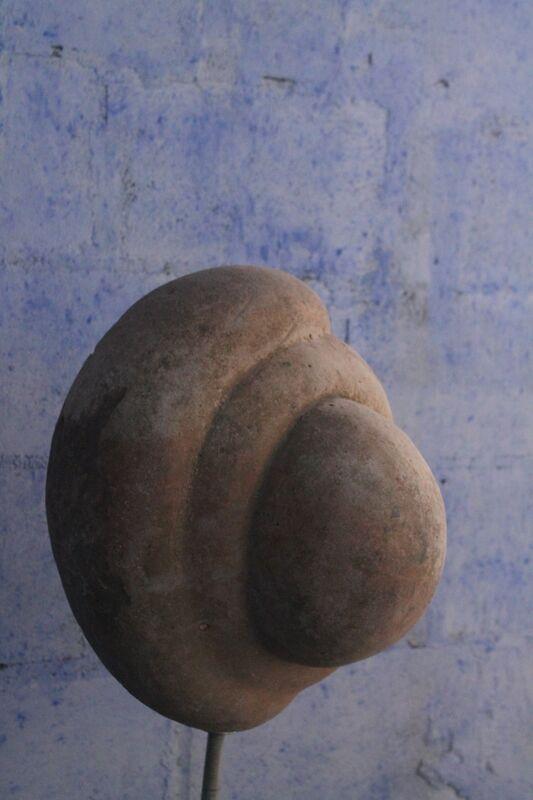 Muamby Wassaky, 'Arteologia 01', Sculpture, Limestone, MOVART
