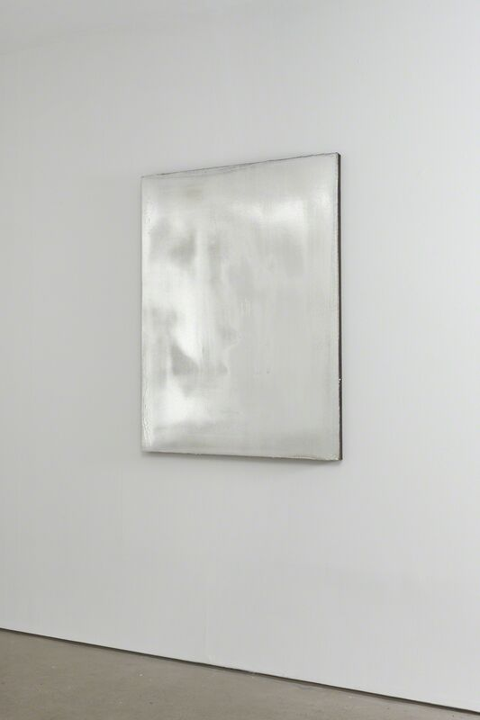 Jacob Kassay, 'Untitled', 2009, Painting, Acrylic and silver deposit on canvas, Collezione Maramotti