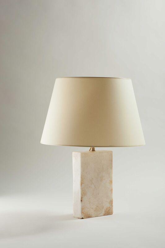 "Jean-Michel Frank, 'Table lamp ""Block"" model', ca. 1925, Design/Decorative Art, Onyx, Galerie Anne-Sophie Duval"