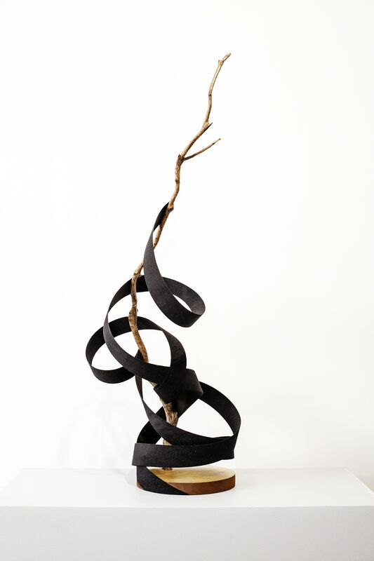Sanell Aggenbach, 'Hedera's Slip', 2015, Sculpture, Painted wood, resin and fool's gold, WHATIFTHEWORLD