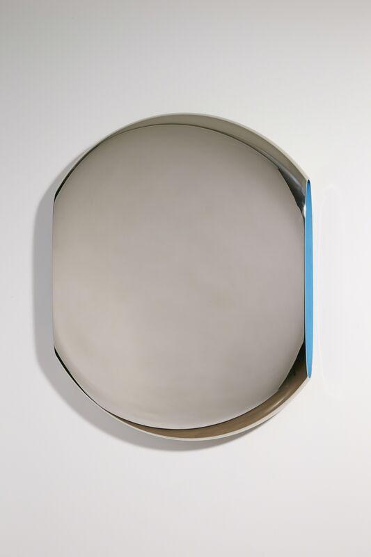 Fredrikson Stallard, 'Mirror 'Pantheon' Cerulian Blue', 2011, Design/Decorative Art, Mirror polished nickel plated aluminium, pigment paint, David Gill Gallery