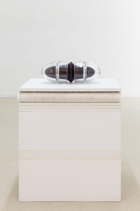 Jennifer Caubet, 'Capsule 1.2', 2019, Sculpture, Blown glass, stainless steel, Jousse Entreprise