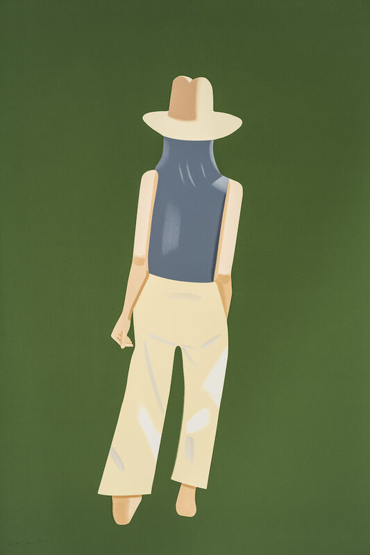 Alex Katz, 'Departure', 2017, Print, Silkscreen in 22 colors on Saunders Waterford Smooth HP White 425gsm paper., Frank Fluegel Gallery
